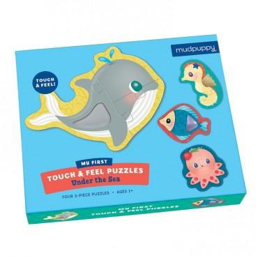 Puzzle sensoryczne Pod wodą 1+ Mudpuppy
