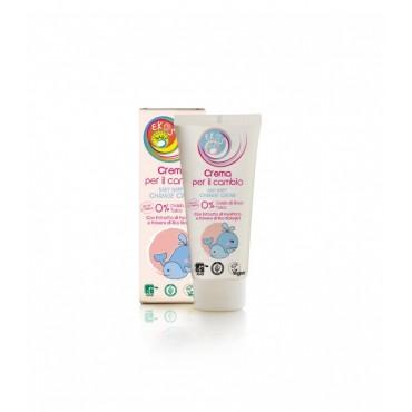 Krem ochronny na podrażnienia pieluszkowe 0% cynku i talku z ekstraktem z upraw ekologicznych 100 ml Ekos Baby