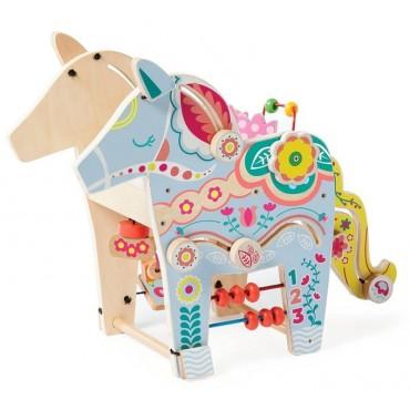 Kostka edukacyjna Jednorożec Manhattan Toy
