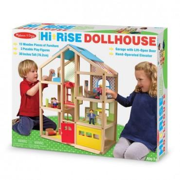Domek dla lalek z windą Melissa&Doug