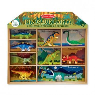 Impreza u dinozaurów-zestaw figurek Melissa&Doug