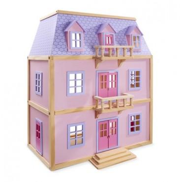 Wielopoziomowy domek dla lalek Melissa&Doug