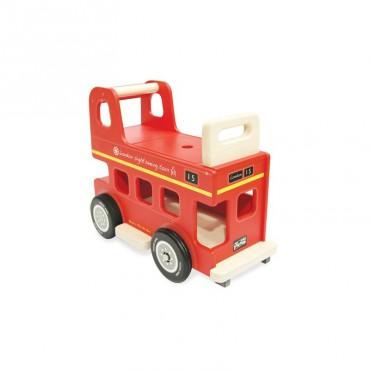 Drewniany jeździk autobus Berniego, Indigo Jamm