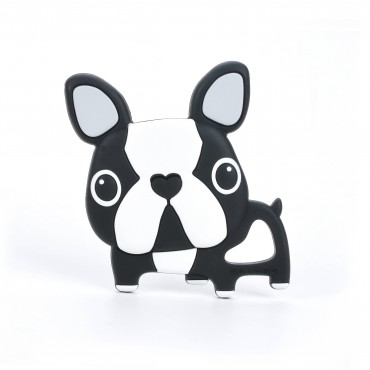 Gryzak slikonowy Boston Terrier Loulou LOLLIPOP