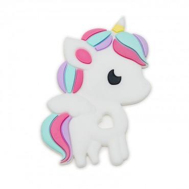 Gryzak silikonowy Rainbow Unicorn Loulou LOLLIPOP