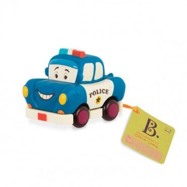 Mini Wheeee-ls! – mini autko z napędem Policja B.Toys
