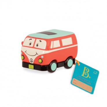 Mini Wheeee-ls! – mini autko z napędem Busik B.Toys