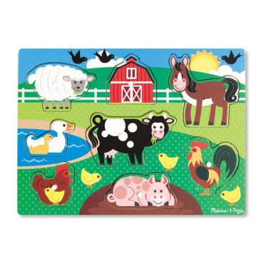 Puzzle Farma Melissa&Doug