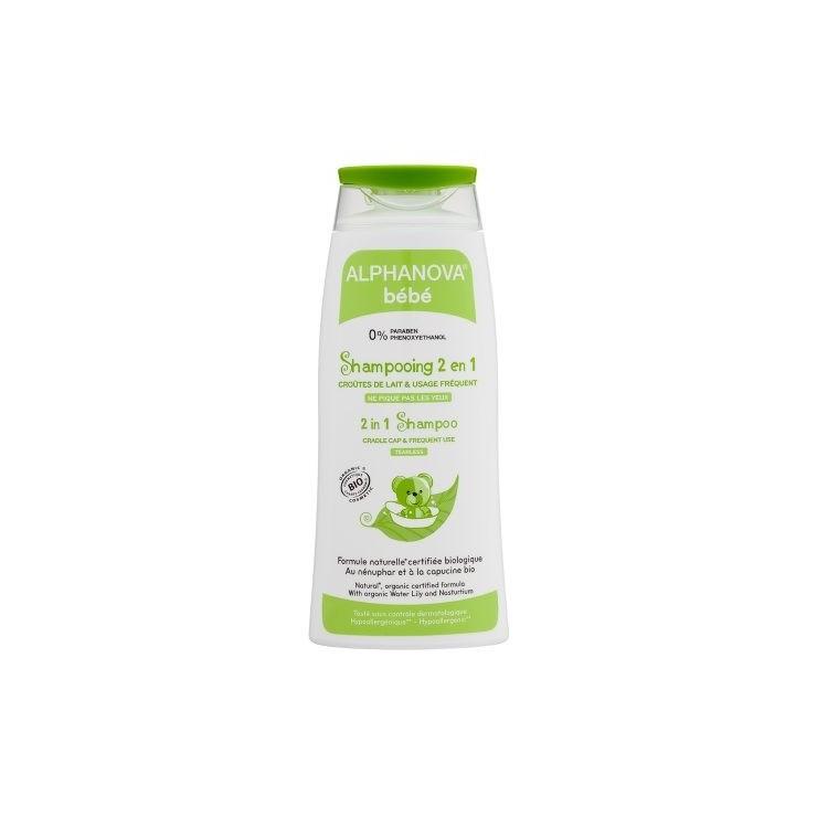 Alphanova Bebe Delikatny szampon do włosów Bio 200 ml