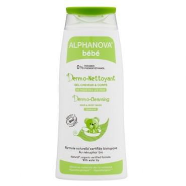 Alphanova Bebe Dermo - żel do mycia ciała i włosów 200ml