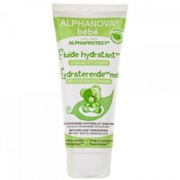 Alphanova Bebe Fluid - nawilżający do twarzy i ciała do skóry przesuszonej 100 ml
