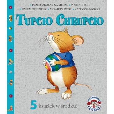 Pakiet Tupcio Chrupcio- 5 tytułów