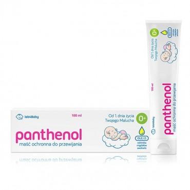 Panthenol, maść ochronna do przewijania od 1 dnia życia, 100ml Lab4baby