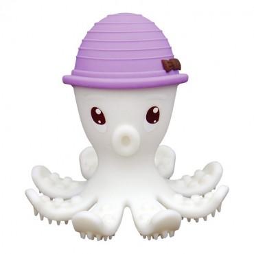 Gryzak Zabawka Ośmiornica Lilac Mombella