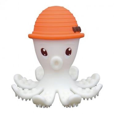 Gryzak Zabawka Ośmiornica Orange  Mombella