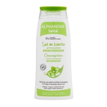 Alphanova Bebe Organiczne mleczko z oliwą do mycia niemowląt 200 ml