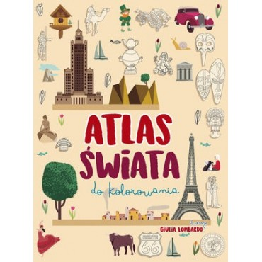 Atlas świata do kolorowania, Wydawnictwo Olesiejuk