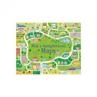 Mapy. Blok z łamigłowkami, Wydawnictwo Olesiejuk
