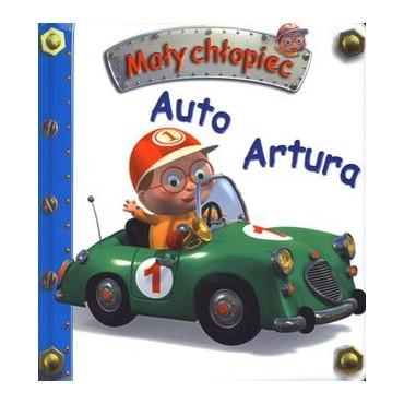 Mały chłopiec. Auto Artura Wydawnictwo Olesiejuk