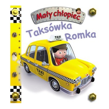 Mały chłopiec. Taksówka Romka Wydawnictwo Olesiejuk