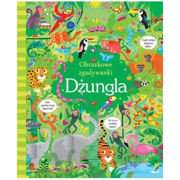 Obrazkowe zgadywanki Dżungla, Wydawnictwo Olesiejuk