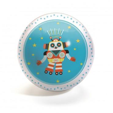Piłka gumowa Robot Djeco