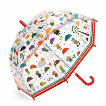 Parasol przeciwdeszczowy W deszczu Djeco