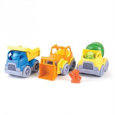 Zestaw pojazdów budowlanych Green Toys