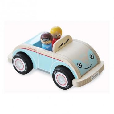 Drewniane auto Charliego, Indigo Jamm