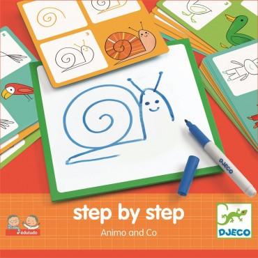 Eduludo Krok po kroku Zwierzątka Djeco