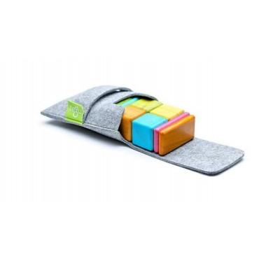 Drewniane klocki magnetyczne Pocket Pouch Original 8szt Tints Tegu