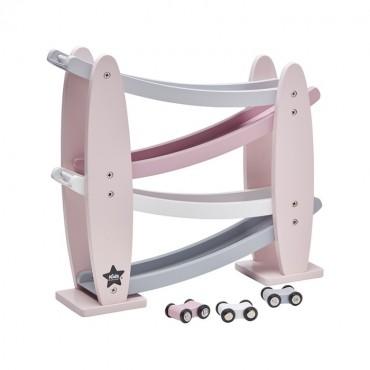 Zjeżdżalnia Drewniana Pink Kids Concept