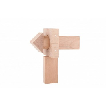 Drewniane klocki magnetyczne Mini Natural Kooglo
