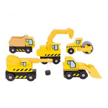 Pojazdy budowlane bjt065 BigJigs