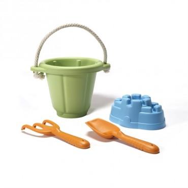 Zestaw do Zabawy w Piasku Zielony GTSND01R Green Toys