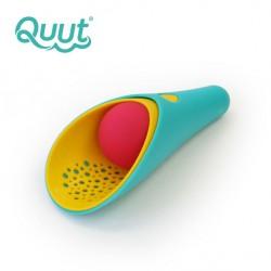 Zestaw 2 łopatek wielofunkcyjnych z piłeczką Cuppi Lagoon Green + Yellow + Cherry red ball Quut