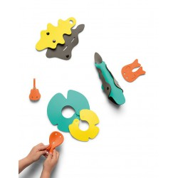 Zestaw puzzli piankowych 3D Quutopia Krokodyle Quut