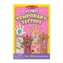 Zestaw 100 tatuaży dla dziewczynki Melissa&Doug