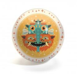 Piłka gumowa Totemy średnica 15 cm Djeco