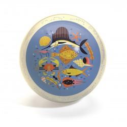 Piłka gumowa Ocean średnica 22 cm Djeco