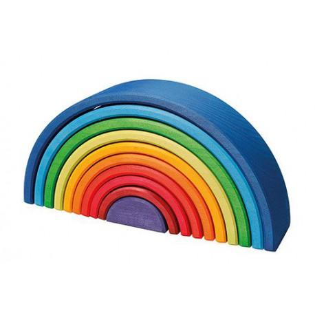 Kolorowa 10-elementowa tęcza zachód słońca 1+ Grimm's