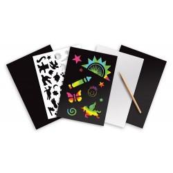 Scratch Art Zdrapki Holograficzne - Tęcza Melissa&Doug