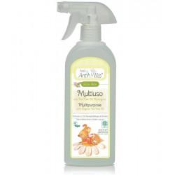 Płyn do czyszczenia powierzchni mających kontakt z dzieckiem, z organicznym olejkiem herbacianym, 500 ml, Baby Anthyllis