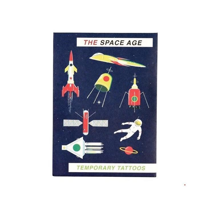 Zmywalne Tatuaże Dla Dzieci Era Kosmiczna Rex London
