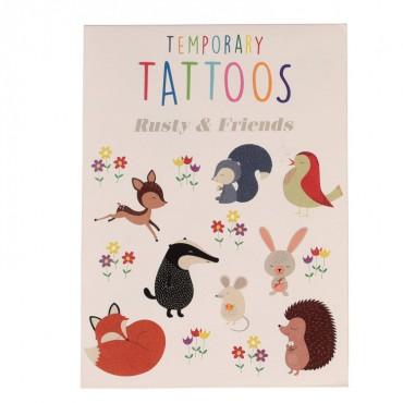 Zmywalne tatuaże dla dzieci...