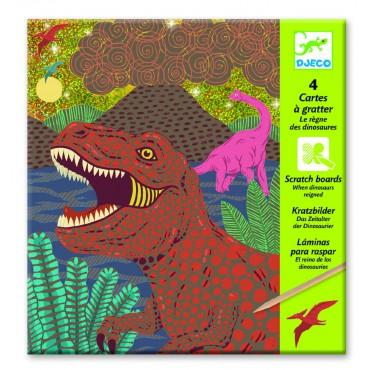 Wydrapywanka Dinozaury Djeco