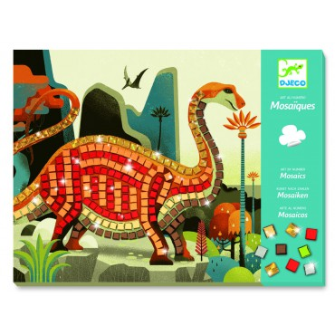 Mozaiki Dinozaury Djeco