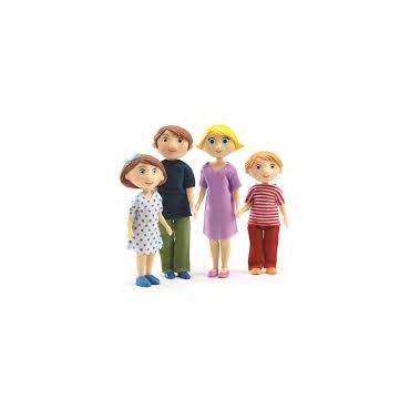 Figurki - rodzina Gasparda...