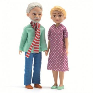 Figurki - Dziadek i Babcia...