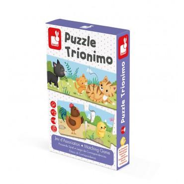 Trzyczęściowe puzzle...